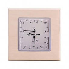 Термогигрометр квадратный SAWO 225-THА ОСИНА