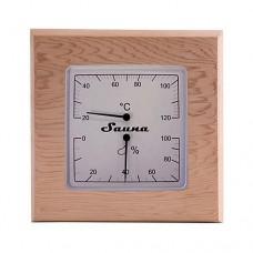 Термогигрометр квадратный SAWO 225-THD КЕДР