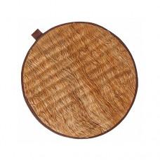 Коврик банный круглый из лыка