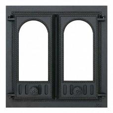 SVT 401 Дверца каминная 2-х створчатая 410х410 мм