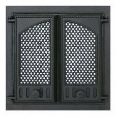 SVT 404 Дверца каминная 2-х створчатая 410х410 мм