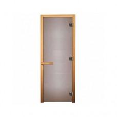 Везувий Дверь сатин матовая (листва)