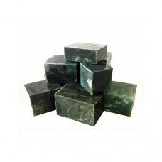 Камни для бани Нефрит пиленный (куб)