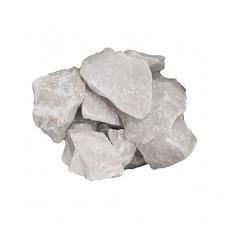 Камни для бани Кварц белоснежно-белый