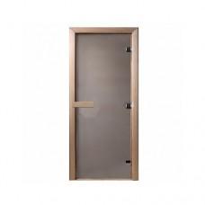 """DoorWood Дверь для бани сатин """"Теплое утро"""""""